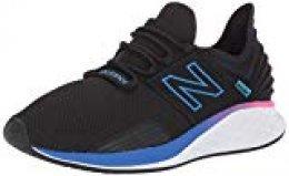 New Balance Fresh Foam Roav, Zapatillas de Running para Hombre, Negro (Black Black), 46.5 EU