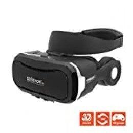 "Gafas VR celexon Expert - Gafas 3D realidad virtual VRG 3 con auriculares, Smartphone 3,5"" a 5,7"""