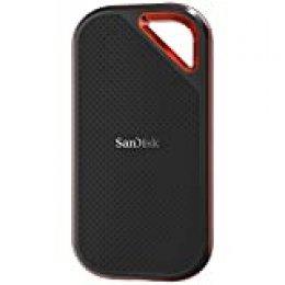 SanDisk Extreme Pro - Portable SSD de 500 GB y hasta 1050 MB/s con USB-C, de diseño robusto y resistente al agua