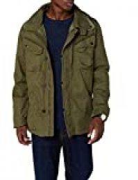 Brandit Byron Outdoorjacket, Hood Chaqueta, Verde (Olive 1), M para Hombre