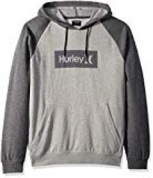 Hurley M One&Only Box 2.0 Pullover Sudaderas, Hombre, Charcoal Heathr, M