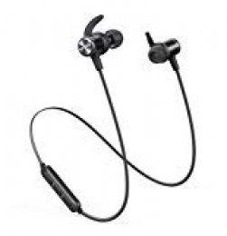 Anker Soundcore Spirit Sports Earphones Auriculares Bluetooth inalambricos, con Bluetooth 5.0, batería de 8 Horas, Impermeable IPX7(reacondicionados certificados)
