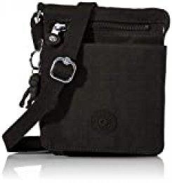 Kipling NEW ELDORADO Bolso bandolera, 20 cm, 1 liters, Negro (Black Noir)