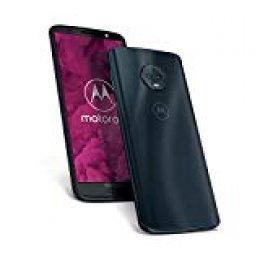 Motorola Moto G6 - Smartphone libre Android (pantalla de 5.7'', 4G, cámara de 12 MP, 4 GB de RAM, 64 GB, Dual Sim), color azul índigo - [Exclusivo Amazon]