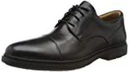 Clarks Un Tailor Cap, Zapatos de Cordones Derby para Hombre