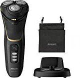Philips - Afeitadora eléctrica (350 g), color negro y dorado