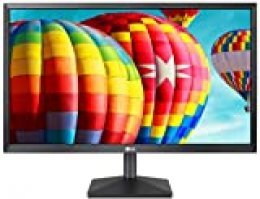 "LG 22MK430H-B - Monitor FHD de 54,6 cm (22"") con Panel IPS (1920 x 1080 píxeles, 16:9, 250 cd/m², NTSC >72%, 1000:1, 5 ms, 60 Hz) Color Negro Mate"
