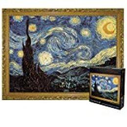 Pinturas Mundialmente Famosas Rompecabezas 3000 Piezas Gran Avión Papel Rompecabezas Rompecabezas Juguete Regalo 115 * 82cm Cielo estrellado