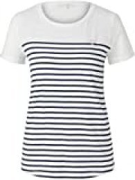 Tom Tailor Denim Streifen Camiseta para Mujer