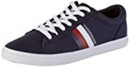 Tommy Hilfiger Essential Stripes Detail Sneaker, Zapatillas para Hombre