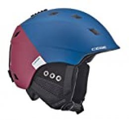 Cébé Ivory Casco de Ski Blue/Red Adultos Unisex 59-61 cm