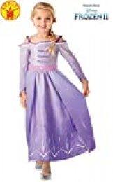 Rubies 300460 5-6 Disney Frozen 2 - Disfraz de Frozen 2, para niñas, multicolor