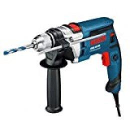 Bosch Professional GSB 16 RE - Taladro percutor (750 W, 0 – 2800 rpm, Ø max perforación hormigón 16 mm, en maletín)