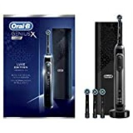 Oral-B Genius X 20000 Luxe Edition Cepillo de dientes eléctrico con tecnología de Braun, color negro