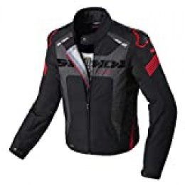 SPIDI D206-021- M Warrior H2Out chamarra, negro/rojo
