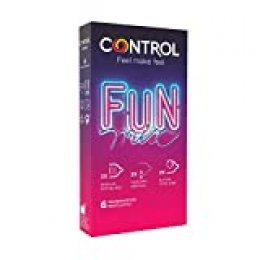 Control Preservativos Sensual Fun Mix 6 Uds 6 Unidades 21 g