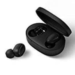 Xiaomi Redmi Airdots S TWS Bluetooth 5.0 Auriculares Bajo estéreo con micrófono Auriculares Manos Libres AI Control Negro (Versión Global)