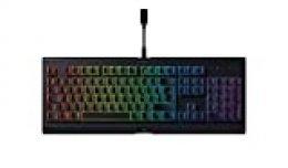 Razer Cynosa Chroma - Teclado de membrana para juegos (teclado con teclas de suaves, programables, rollover de 10 teclas, iluminación cromática RGB), ES Layout