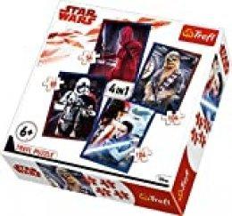 Puzzle 4w1 Star Wars Gotowi do starcia