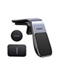 UGREEN Soporte Móvil Coche Magnético, Mini Soporte Móvil Coche Iman para Rejillas de Aire Universal Soporte Teléfono Móvil Car Holder para iPhone 11 Pro/XR/X/ 8 Plus/ 7,Samsung Galaxy Note 10/ S9