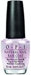 OPI Natural Base Coat - Base Protectora de Uñas Natural, Efecto Manicura Profesional - 15 ml