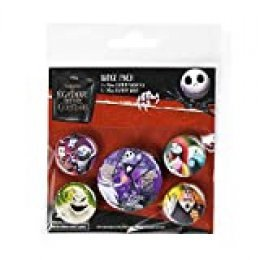 Pack Disney The Nightmare Before Christmas - Chapas Characters