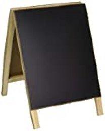 Hampton Art Madera Magnética de borrado en seco Pizarra Caballete 20,3x 12-Inch-