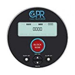 CPR V10000 Call Blocker - Bloqueador de Llamadas. Decida quién Puede y quién no Puede llamarlo con Solo Tocar un botón. Protege a Sus Padres contra estafas.