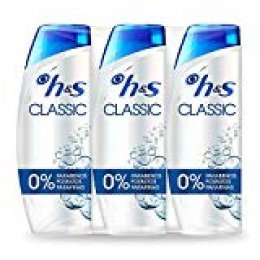 Head & Shoulders Classic - Anticaspa Champú, 3 x 540 ml