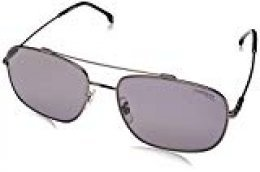 Carrera Sport 182/F/S Gafas, DKRUTH BLACK/GY GREY, 60 Hombres