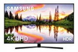 "Samsung 43NU7405 - Smart TV de 43"" 4K UHD HDR (Pantalla Slim, Quad Core, One Remote, 3 HDMI, 2 USB), Color Negro (Carbon Black)"