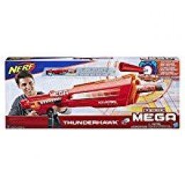 Nerf N-Strike Mega AccuStrike Series Thunderhawk Pistola de Juguete - Armas de Juguete (Pistola de Juguete, 8 año(s), Niño, Multicolor, 1 Pieza(s), 10 Pieza(s))