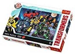Puzzle 100 Transformers Druzyna Autobotów