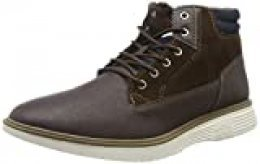 Jack & Jones Jfwduston PU Combo Java, Botas Chukka para Hombre