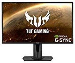 ASUS TUF Gaming VG27AQ: Monitor HDR 27 Pulgadas (WQHD 2560x1440, 165 Hz, Extreme Low Motion Blur Sync, G-Sync Compatible, Adaptive-Sync, 1 ms MPRT)