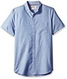 Marca Amazon - Goodthreads – Camisa dobby de manga corta y corte estándar para hombre
