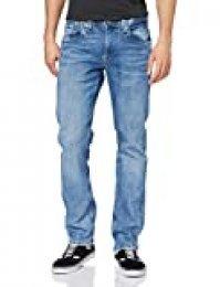 Pepe Jeans Cash Vaqueros Straight, Azul (000denim 000), W30/L34 (Talla del Fabricante: 30) para Hombre