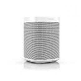 Sonos One altavoz inteligente con control por voz de Amazon Alexa & asistente de Google, conexión wifi y compatibilidad con AirPlay en dispositivos iOS, color blanco