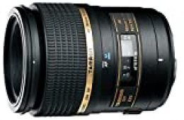 Tamron SP AF 90 mm F/2.8 Di Macro 1:1 - Objetivo para Nikon (Distancia Focal Fija 90mm, Apertura f/2.8, Macro, diámetro: 55mm) Negro