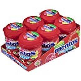 Mentos Chicle Frutas Silvestres, Sin Azúcar - 6 unidades de 60 gr. (Total 360 gr.)