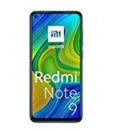 "Xiaomi Redmi Note 9 Smartphone 4GB 128GB, 48MP Quad Camera, 6.53""FHD + DotDisplay, 5020 mAh, 3.5mm Headphone Jack NFC, Verde"
