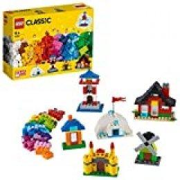 LEGO Classic - Ladrillos y Casas, manualidades niños y niñas a partir de 4 años para construir (11008)