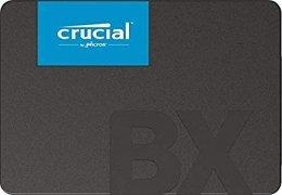 Crucial BX500 CT480BX500SSD1(Z) - Disco Duro Sólido Interno SSD de 480 GB (3D NAND, SATA, 2.5 Pulgadas)
