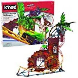 K'nex 34043 Rides Dragon'S Revenge Thrill Roller - Juego de construcción de Posavasos, Multicolor