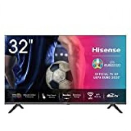 Hisense HD TV 2020 32AE5500F - Smart TV Resolución Full HD, Natural Color Enhancer, Dolby Audio, Vidaa U 2.5 con IA, HDMI, USB, Salida auriculares
