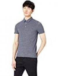 Marca Amazon - find. Polo Hombre, Azul (Navy), XXL, Label: XXL