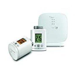 Gigaset - Juego de termostatos para Control Inteligente de la calefacción (2 reguladores de Ahorro de energía)