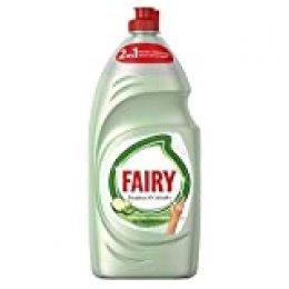 Fairy Limpieza y Cuidado Aloe Vera y Pepino Lavavajillas Líquido 1015 ml con Protección de la Dermis Beneficia la Piel y Combate la Grasa