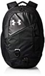 Under Armour Hustle 4.0 Mochila, Unisex Adulto, Negro, OSFA