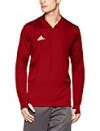 adidas CON18 TR Top Sweatshirt, Hombre, Power Red/White, S